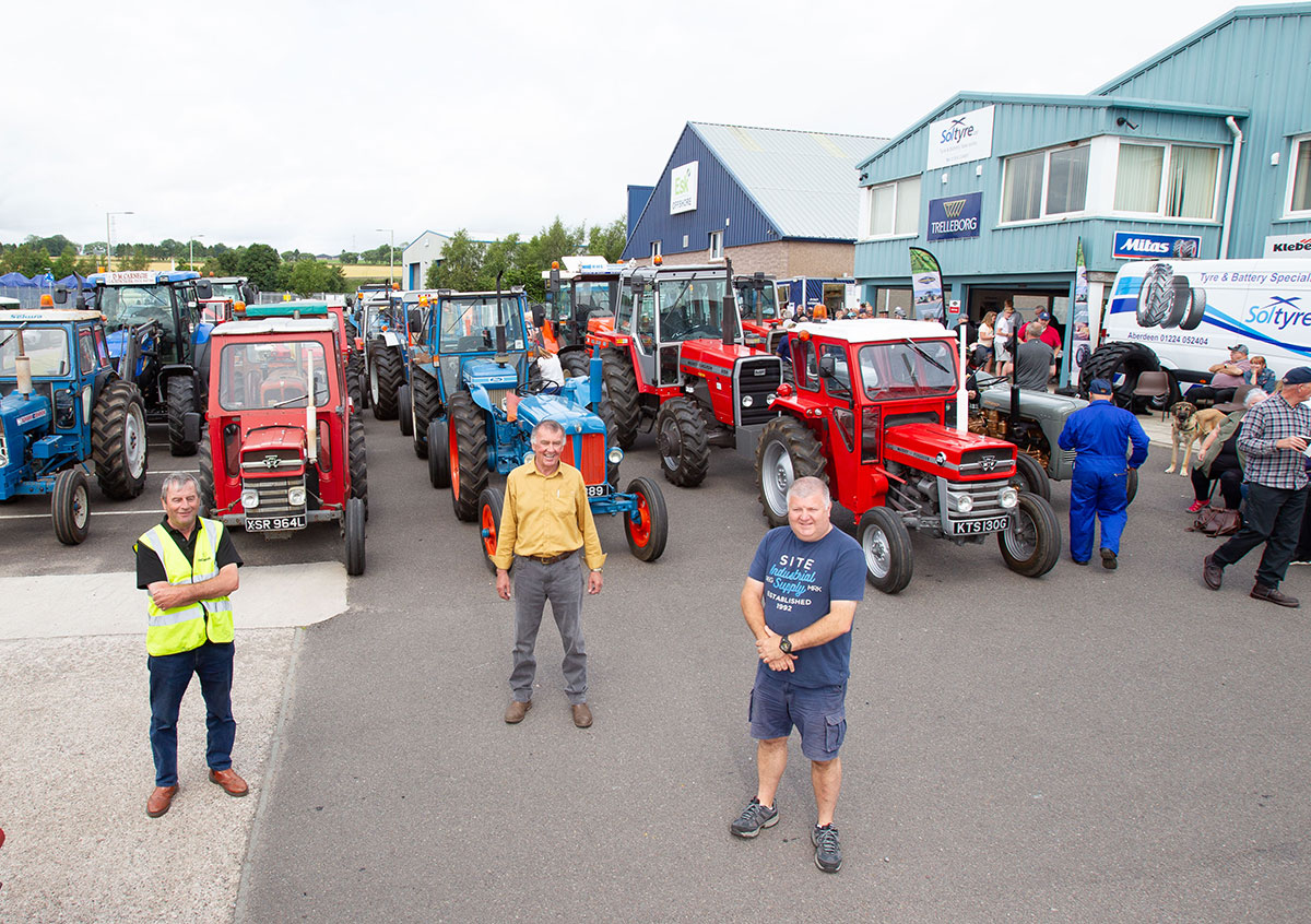 Vintage Tractor Spectacular Provides Charity Boost